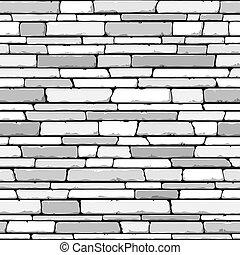 seamless., pedra, wall.