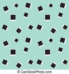 Seamless Photo Cards Pattern