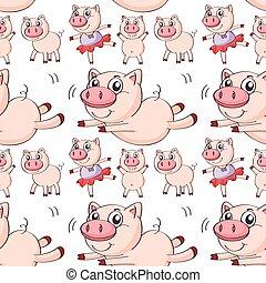 Seamless pig
