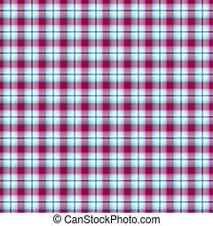 Seamless pink-blue-white geometric pattern