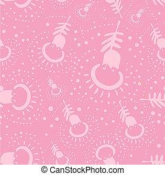 pink etnic pattern