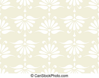 seamless pink flower pattern