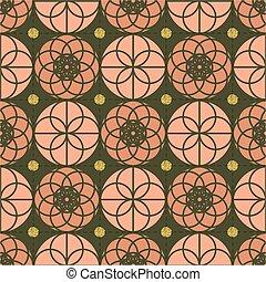 seamless pink glitter with silver dot glitter pattern background