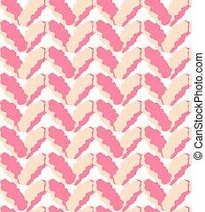 Seamless pink marl downy pattern, knitting texture -...