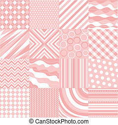 seamless pink patterns