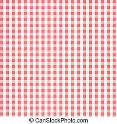 Seamless pink plaid pattern, fabric, textile