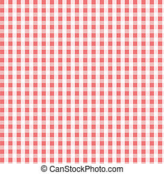 Seamless pink plaid pattern, fabric, textile