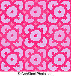 Seamless - Pink Rings
