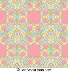 Seamless Pink Wallpaper