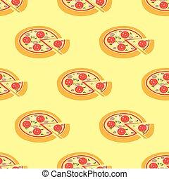 seamless, pizza, padrão