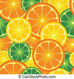 seamless, plano de fondo, naranja