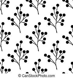 Seamless plant pattern