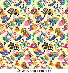 seamless playground pattern  - seamless playground pattern