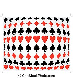 Seamless poker background