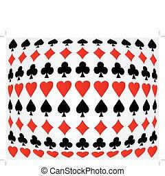 Seamless poker background