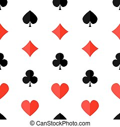 Seamless poker background with suits2