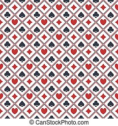 Seamless poker pattern