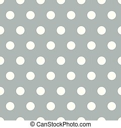 Seamless polka dot pattern background