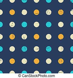 Seamless Polka Dot Pattern - Seamless polka dot pattern in...