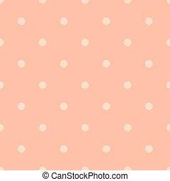 seamless polka dot spattern