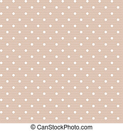 Seamless polka dot vintage pattern - Seamless polka dot...