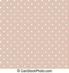 Seamless polka dot vintage pattern - Seamless polka dot...