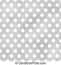 seamless polka dots grey pattern