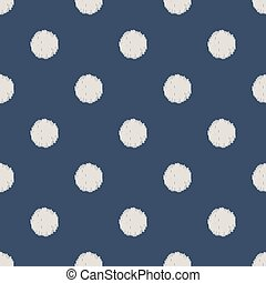 seamless polka dots pattern