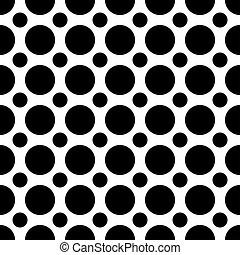 Seamless Polka Dots Pattern - A seamless pattern of...