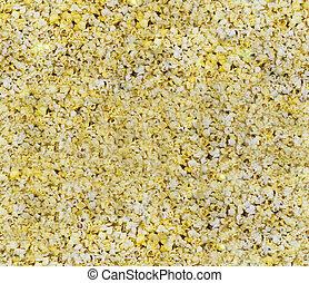 Seamless Popcorn Background - A seamless popped popcorn ...