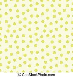 seamless, próbka, polka, dots.