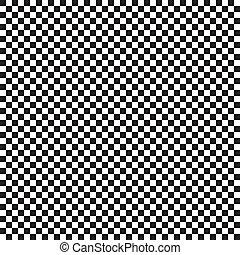 seamless, pretas, xadrez, fundo, tabela, branca