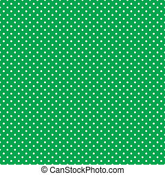 seamless, punti polca, luminoso, verde
