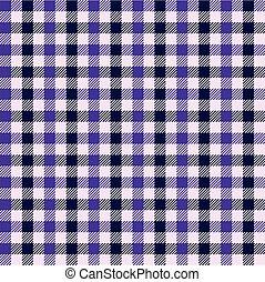 Seamless purple gingham pattern.