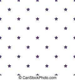 SEAMLESS PURPLE STAR GLITTER PATTERN ON WHITE BACKGROUND