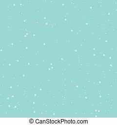 seamless, résumé, neige, modèle, vecteur, arrière-plan bleu