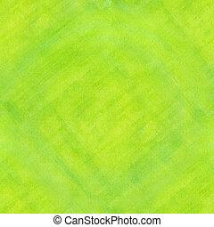 seamless, résumé, vert, revêtu, aquarelle, arrière-plan.