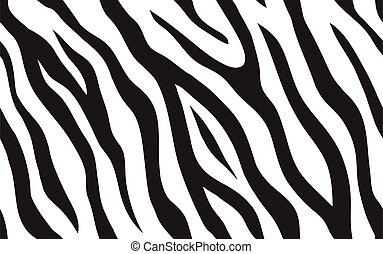 seamless, raies, zebra, pattern.