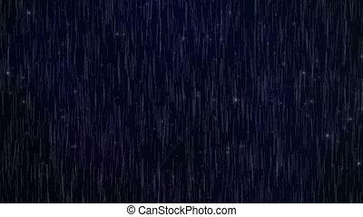 Seamless rain fall