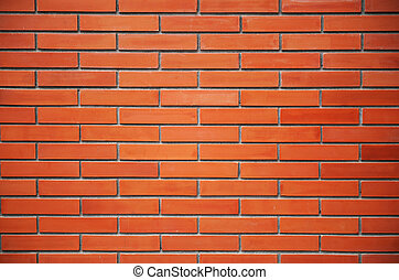 Seamless Red Brick Wall