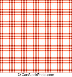 Seamless red check pattern