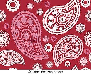 seamless red pattern