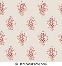 Seamless Red Wallpaper Pattern,