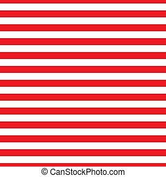 Seamless Red & White Stripes