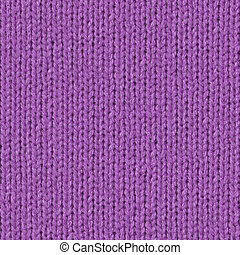 Seamless Repating Tileable Purple Wool Close-Up Texture