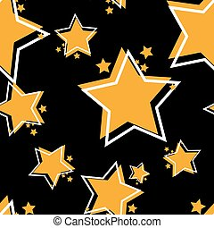 Seamless repeating background from stars