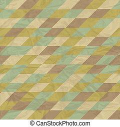 seamless, retro, 기하학이다, pattern.