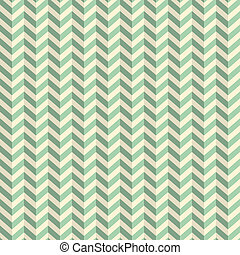 Seamless Retro Abstract Green Toothed Zig Zag Paper...