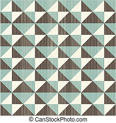 seamless retro abstract pattern in blue grey and brown