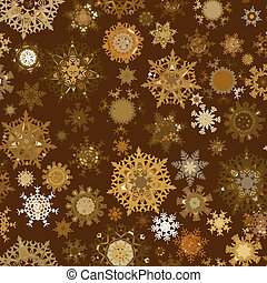 Seamless retro christmas texture pattern. EPS 8